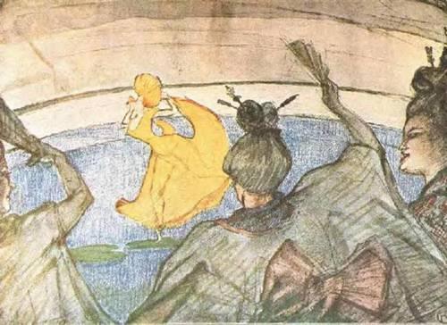 The Ballet Papa Chrysanthemem 1892 | Henri Toulouse Lautrec | Oil Painting