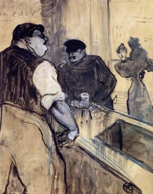The Bartender 1900 | Henri Toulouse Lautrec | Oil Painting
