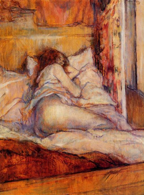 The Bed 1898 | Henri Toulouse Lautrec | Oil Painting