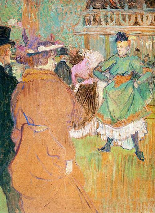 The Beginning of the Quadrille at the Moulin Rouge 1892 | Henri Toulouse Lautrec | Oil Painting