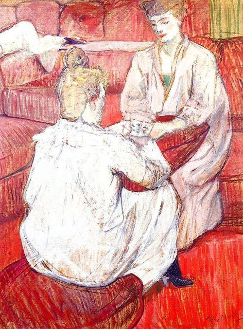 The Card Players 1893 | Henri Toulouse Lautrec | Oil Painting