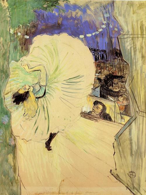 The Cartwheel 1893 | Henri Toulouse Lautrec | Oil Painting