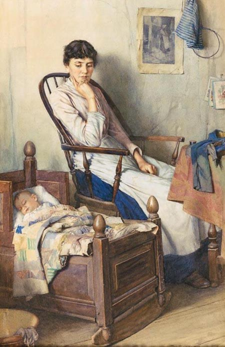 Motherhood | Walter Langley | Oil Painting