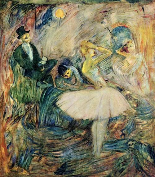 The Dancer in Her Dressing Room 1885 | Henri Toulouse Lautrec | Oil Painting