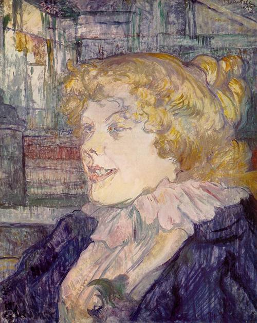 The English Girl from the Star Le Havre 1899 | Henri Toulouse Lautrec | Oil Painting