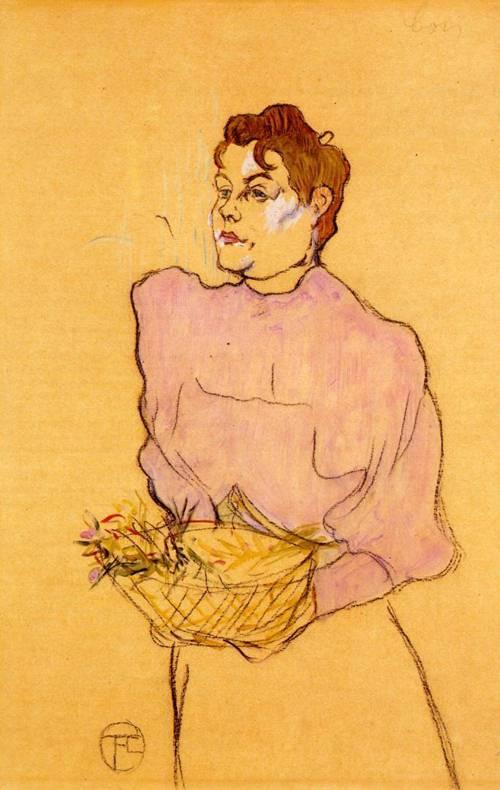 The Flower Seller 1894 | Henri Toulouse Lautrec | Oil Painting
