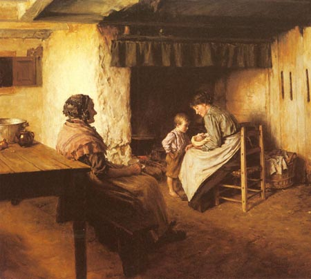 The New Arrival | Walter Langley | Oil Painting