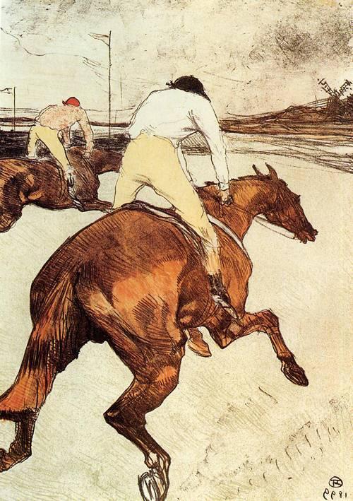 The Jockey 1899 | Henri Toulouse Lautrec | Oil Painting