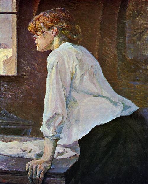 The Laundress 1889 | Henri Toulouse Lautrec | Oil Painting