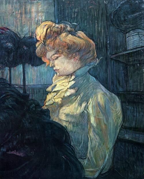 The Milliner 1900 | Henri Toulouse Lautrec | Oil Painting