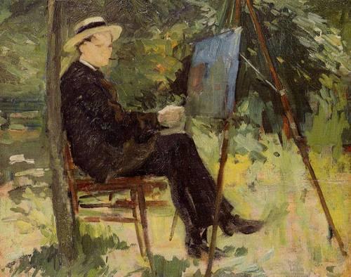 The Painter Rachou 1882 | Henri Toulouse Lautrec | Oil Painting
