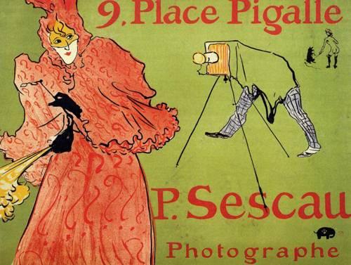 The Photagrapher Sescau 1894 | Henri Toulouse Lautrec | Oil Painting