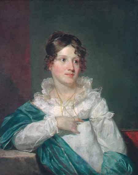 Mrs Daniel DeSaussure Bacot 1820 | Samuel Finley Breese Morse | Oil Painting