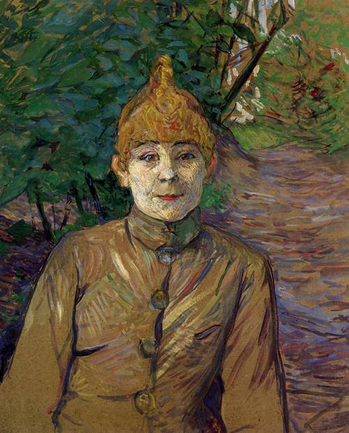 The Streetwalker (aka Casque d'Or) 1890-1891 | Henri Toulouse Lautrec | Oil Painting