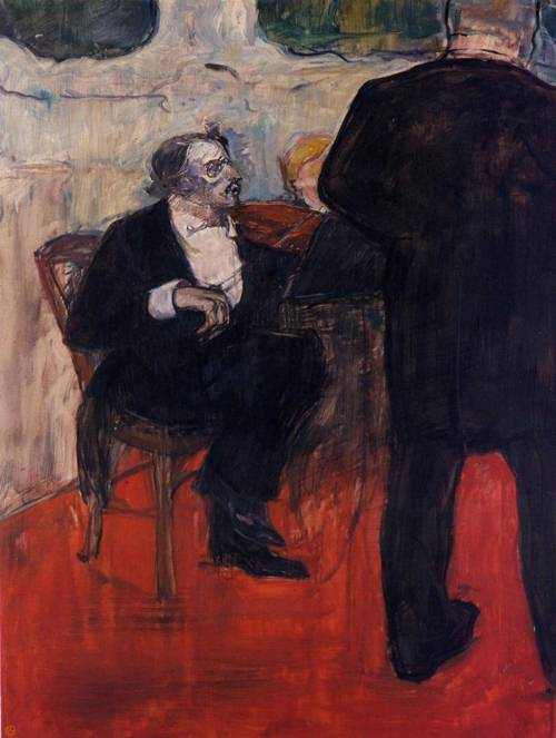 The Violinist Dancia 1900 | Henri Toulouse Lautrec | Oil Painting