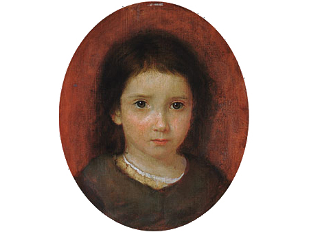 Daughter of William Page 1837 1838 | William Page | Oil Painting
