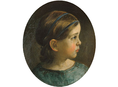 Daughter of William Page 1840 | William Page | Oil Painting