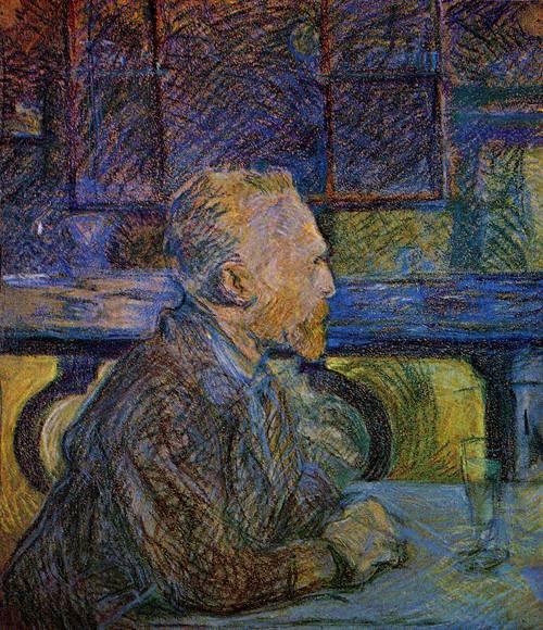 Vincent van Gogh 1887 | Henri Toulouse Lautrec | Oil Painting