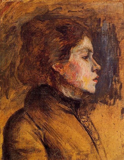 Woman's Head 1899 | Henri Toulouse Lautrec | Oil Painting