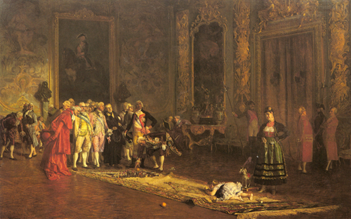 The Education of a Prince 1870 | Eduardo Zamacois y Zabala | Oil Painting