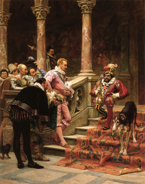 The Favourite Of The King 1867 | Eduardo Zamacois y Zabala | Oil Painting