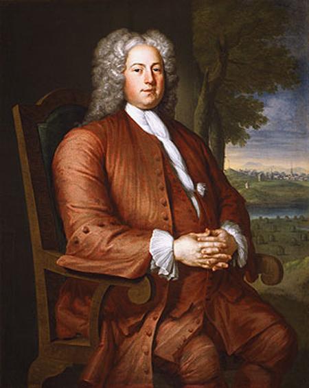 Francis Brinley 1729 | John Smibert | Oil Painting