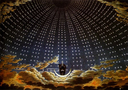 The Queen Of The Night 1815 | Karl Friedrich Schinkel | Oil Painting