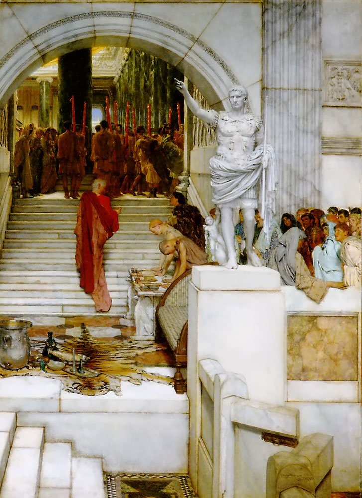 After The Audience | Lawrence Alma-Tadema | Oil Painting
