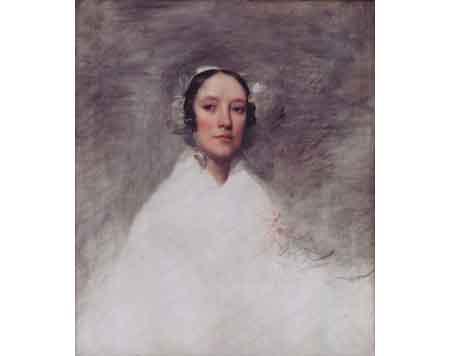 Mrs Samuel L Waldo 1826 | Samuel Lovett Waldo | Oil Painting