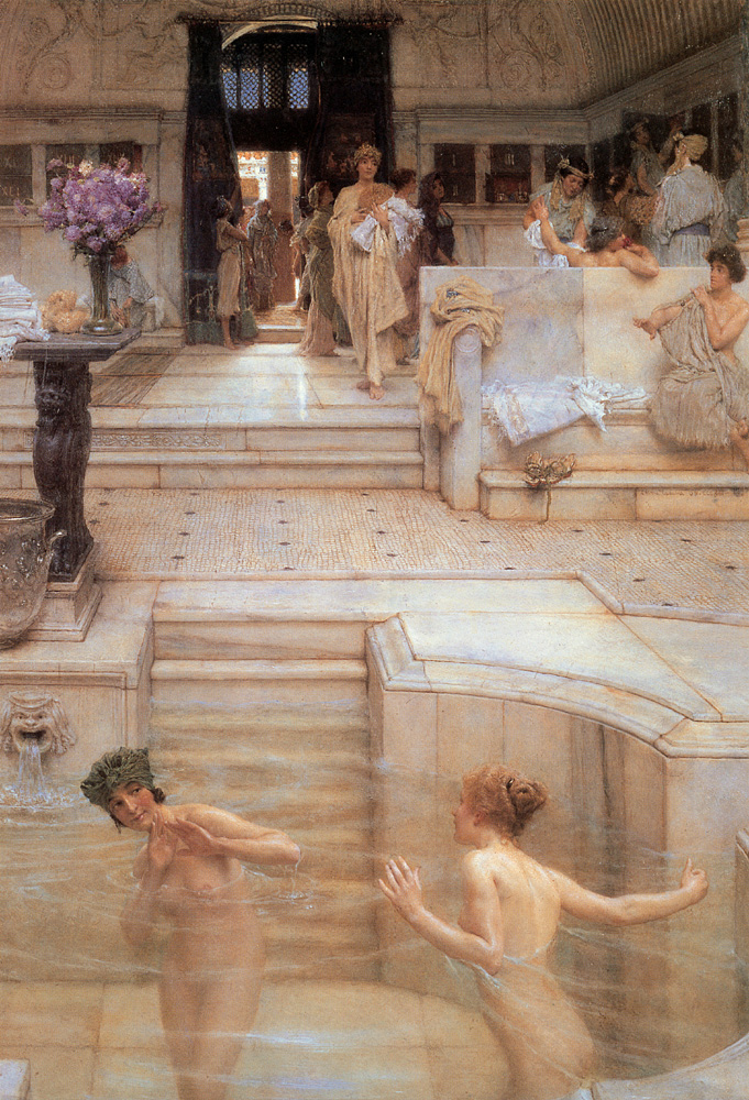 A Favourite Custom | Lawrence Alma-Tadema | Oil Painting
