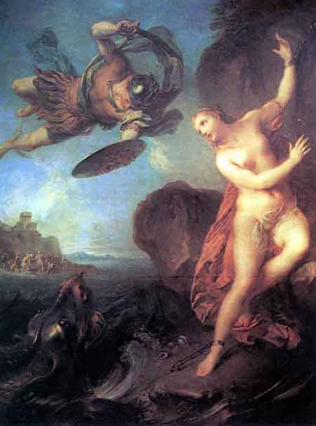 Perseus and Andromeda 1723 | Francois Lemoyne | Oil Painting