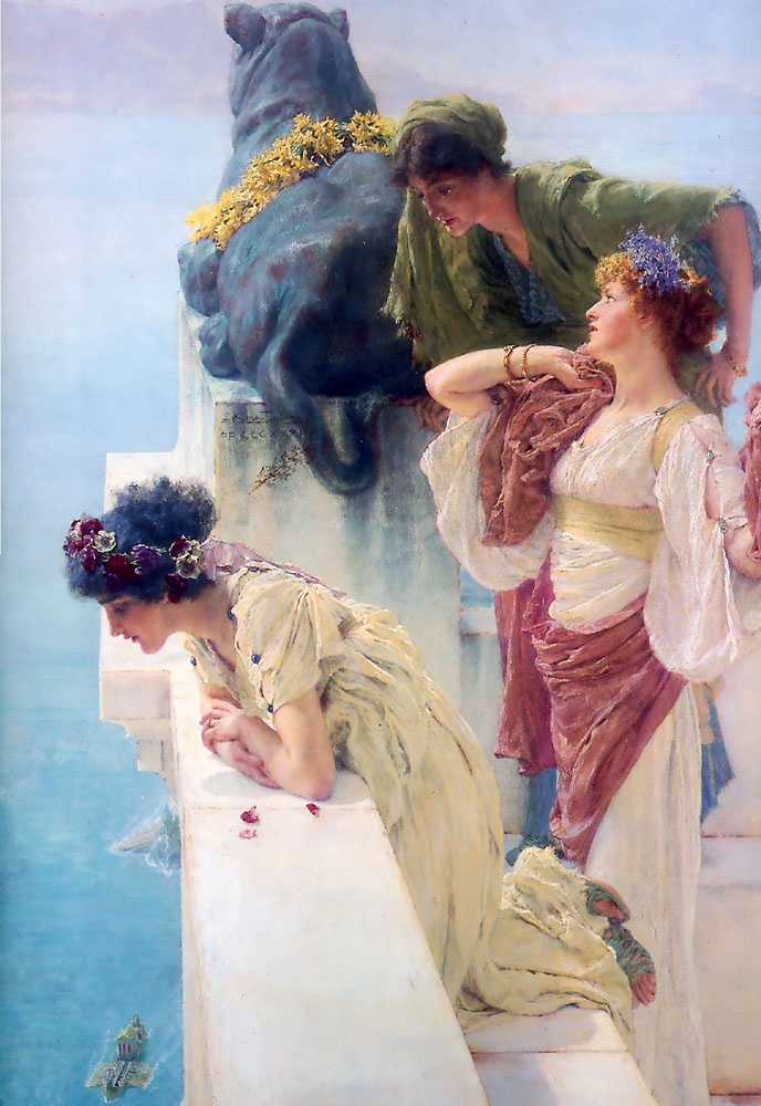 A Coign Of Vantage | Lawrence Alma-Tadema | Oil Painting