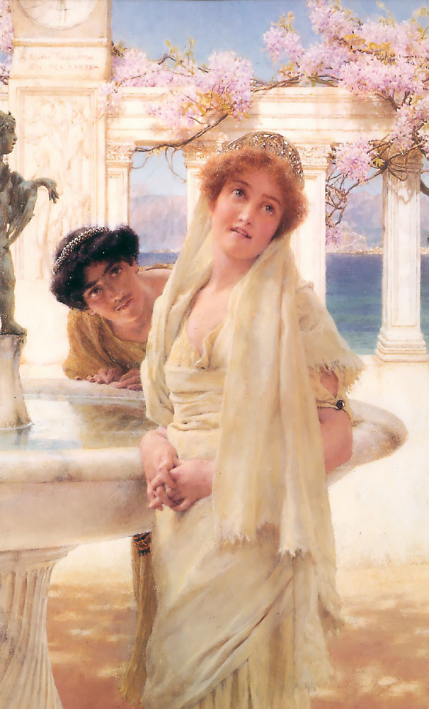 A Difference Of Opinion | Lawrence Alma-Tadema | Oil Painting