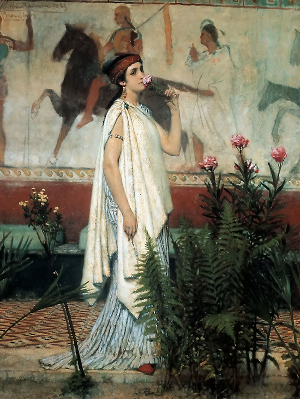 A Greek Woman | Lawrence Alma-Tadema | Oil Painting