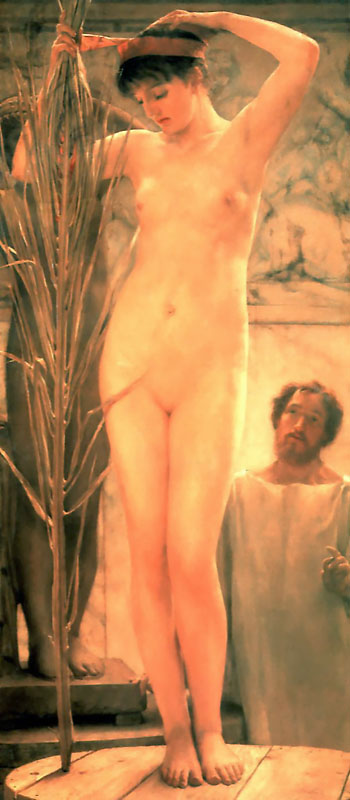A Sculptors Model | Lawrence Alma-Tadema | Oil Painting