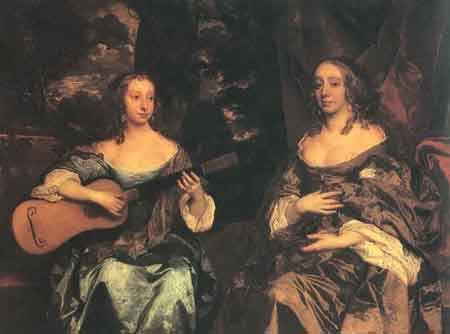 Two Ladies of the Lake Family 1660 | Sir Peter Lely | Oil Painting