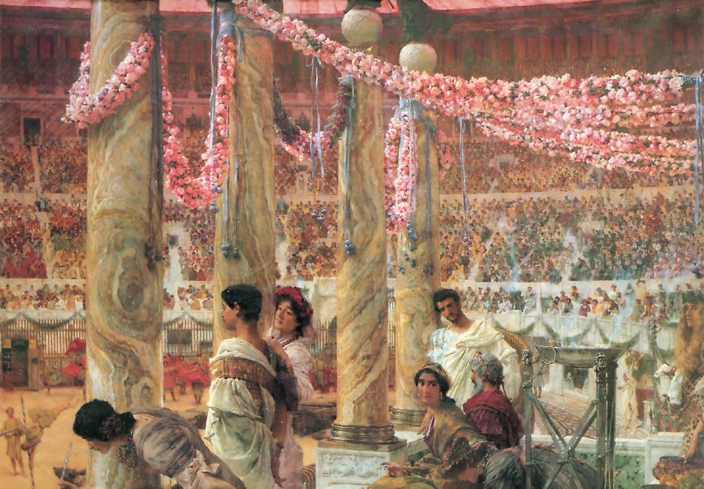 Caracalla And Geta | Lawrence Alma-Tadema | Oil Painting