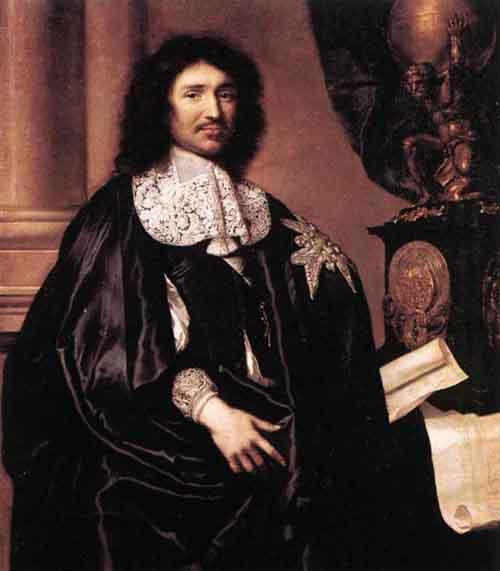 Portrait of Jean Baptiste Colbert | Claude Lefebvre | Oil Painting