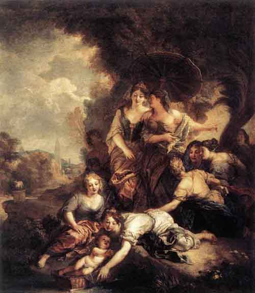 The Finding of Moses 1675 1680 | Charles de La Fosse | Oil Painting