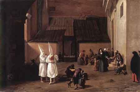 The Flagellants 1635 | Pieter van Laer | Oil Painting