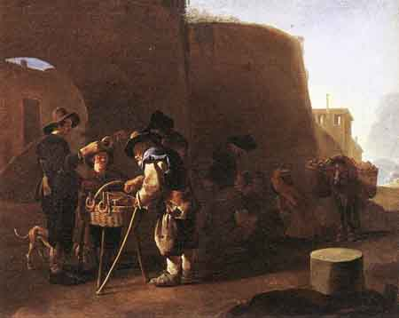 The Cake Seller | Pieter van Laer | Oil Painting