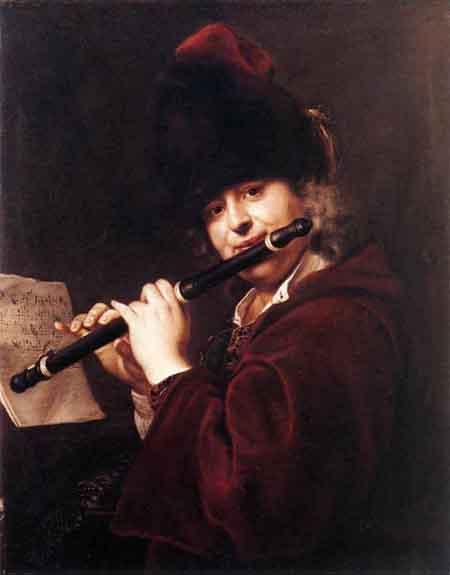 Portrait of the Court Musician Josef Lemberger   Jan Kupecky   Oil Painting