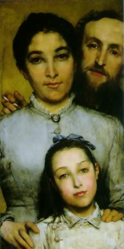 Portrait Of Aime-Jules Dalou | Lawrence Alma-Tadema | Oil Painting