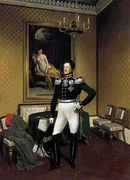 Prince Augustus of Prussia 1817 | Franz Kruger | Oil Painting