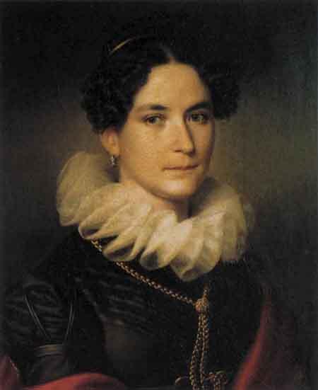 Maria Angelica Richter von Binnenthal 1814 1815 | Johann Peter Krafft | Oil Painting