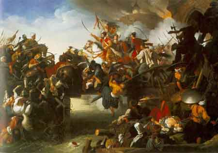 The Attack of Zrinyi 1825 | Johann Peter Krafft | Oil Painting