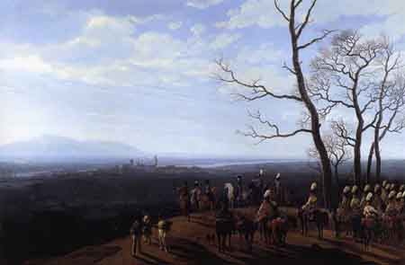 The Siege of Cosel 1808 | Wilhelm von Kobell | Oil Painting