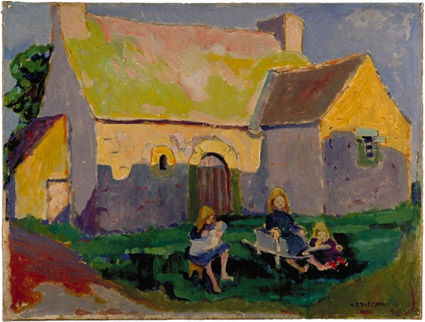 Breton church  1906 | Emily Carr | Oil Painting