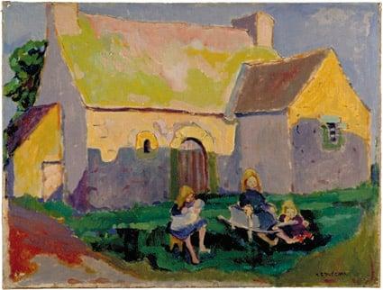 Breton church  1906 | Emily Carr | Oil Painting