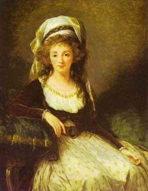 Portrait Of A Lady 1789 | Louise Elisabeth Vigee Le Brun | Oil Painting